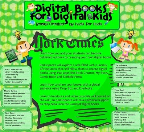 DigitalBooksforDigitalKids - home | Digital Tools for Technology Integration | Scoop.it