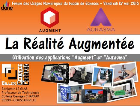 Utilisation de la réalité augmentée (Aurasma et Augment) dans des cours de Technologie dans une démarche de projet | Réalité augmentée, technologies, usages pédagogiques | Scoop.it