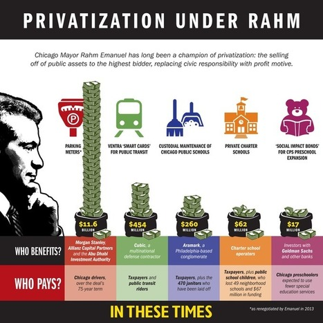 How To Sell Off a City: Chicago, the privatized metropolis of the future | In These Times | The Programmable City | Scoop.it