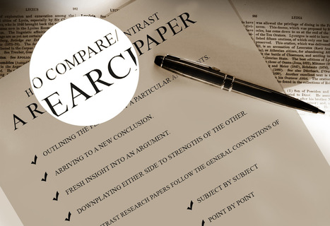 Assignment Service UK: How to Compare/ Contrast a Research Paper | Assignment Service UK | Scoop.it