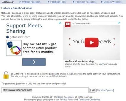 Comment débloquer un compte Facebook au travail? | Astuces sur Facebbook | Scoop.it