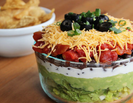 This Lightened-Up 7-Layer Dip Saves Major Calories | ♨ Family & Food ♨ | Scoop.it
