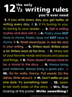The only 12½ Writing Rules you'll ever need. Source: http://b... on Twitpic | Writing Tools Web 3.0 | Scoop.it