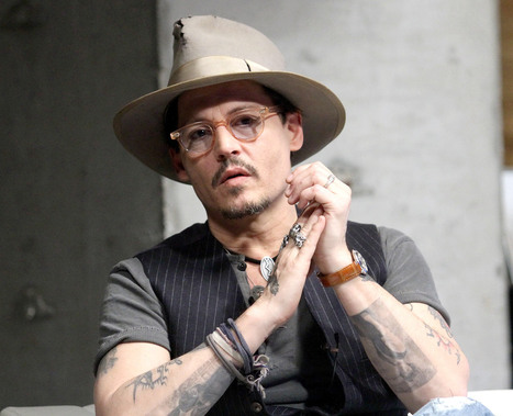 Johnny Depp Wears Fiancee Amber Heard's Engagement Ring: Pictures - Us Magazine | Engagement Rings | Scoop.it