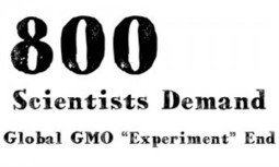 """800 Scientists Demand Global GMO """"Experiment"""" End 