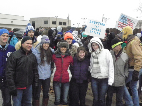 17-year-old champions pro-life cause at first annual high school life rally | Pro-Life and Adoption News | Scoop.it