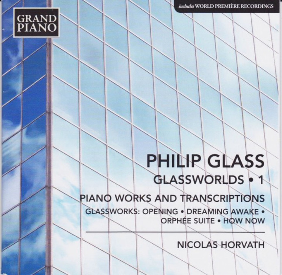 Philip Glass - Glassworlds 1 / Nicolas Horvath, piano | Muzibao | Scoop.it