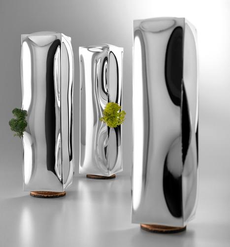 4p1b: 273 frozen water vases for de vecchi | decoracion | Scoop.it