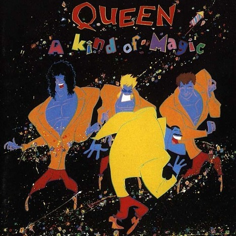 Queen - A kind of magic (single) | album covers | Scoop.it