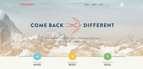 Examples of 'Flat' in Web Design | Doue la fontaine | Scoop.it