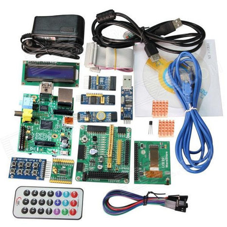 $120 Raspberry Pi Bundle with LCD Display, Expansion Boards, Cables, and Accessories | Embedded Systems News | Scoop.it