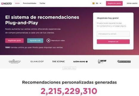 Nosto, plataforma de recomendaciones personalizadas para tiendas de comercio electrónico, ya en español | Ecommerce | Scoop.it