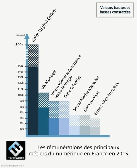 Le métier du digital le mieux payé est… | Politique salariale et motivation | Scoop.it