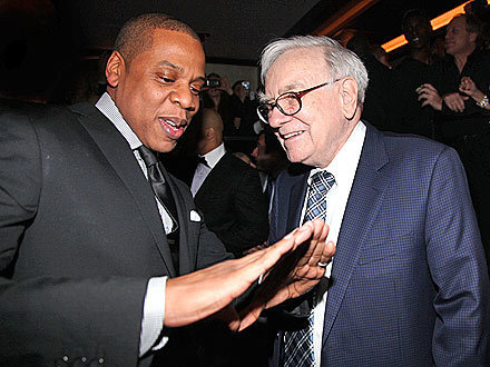 BUFFETT IN DA' HOUSE!: New Dad Jay-Z Giddy at 40/40 Club Re-Opening | TonyPotts | Scoop.it