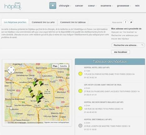 Mon Hôpital : nouveau site de comparaison de la qualité des hôpitaux | e-santé | Scoop.it