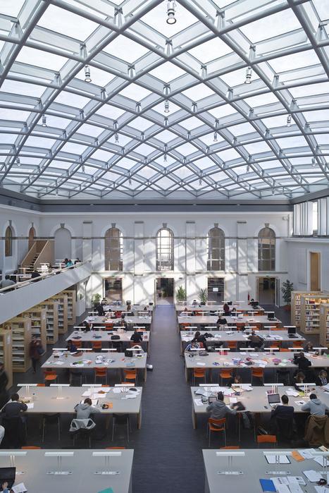 Ciel, ma bibliothèque! - Réalisations - LeMoniteur.fr   Architecture et aménagement en bibliothèque   Scoop.it