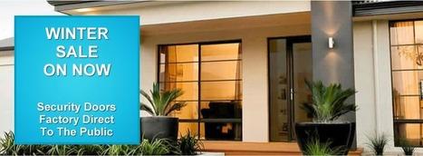 Sliding Security Doors Melbourne | Sliding Doors Melbourne: Make It A Stainless Steel Screen Door in Melbourne | Security Screen Doors In Melbourne | Scoop.it