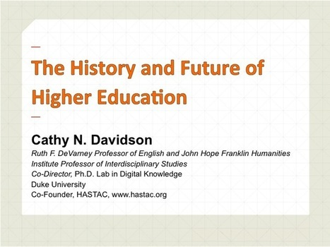 Storyboarding the Future of Higher Education. | HASTAC | Higher Education Access & Affordability | Scoop.it