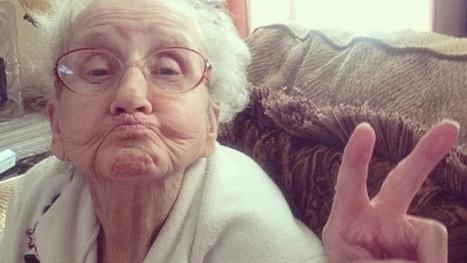 Grandma Betty, reine d'Instagram grâce à son arrière-petit-fils | La société se fait des cheveux blancs | Scoop.it