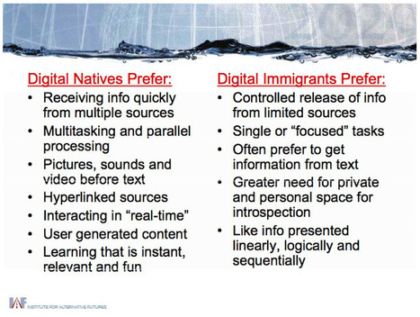 Digital Natives vs Digital Immigrants | 21st Ce... | Research Capacity-Building in Africa | Scoop.it