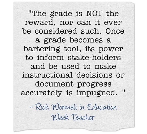 Response: 'The Grading System We Need to Have' | Beyond the Stacks | Scoop.it