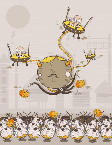 Alejandro Becerra Rojas (sr. vudu) | Illustrator | les Artistes du Web | Scoop.it