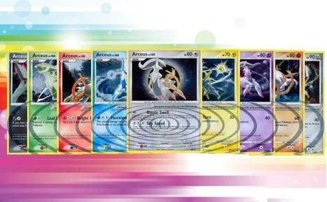 Arceus Sub-Set - Pokemon Cards of the Day - Pkmn Cards Online Blog | Pokemon | Scoop.it