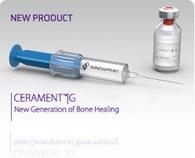 Bonesupport - CERAMENT™|G gentamicin antibiotic eluting bone graft substitute | Dental Implant and Bone Regeneration | Scoop.it