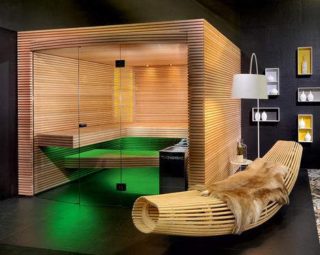 OVOLA Home Sauna by KÜNG AG Saunabau – Adorable Home | Adorable Home - Inspirational Home Design and Decorating Ideas | Scoop.it
