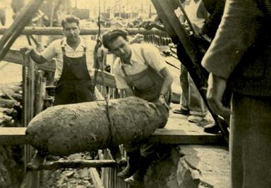 Le déminage des bombes de la seconde guerre mondiale - A Nantes, évacuation de riverains, dimanche 9 juin | Histoire 2 guerres | Scoop.it