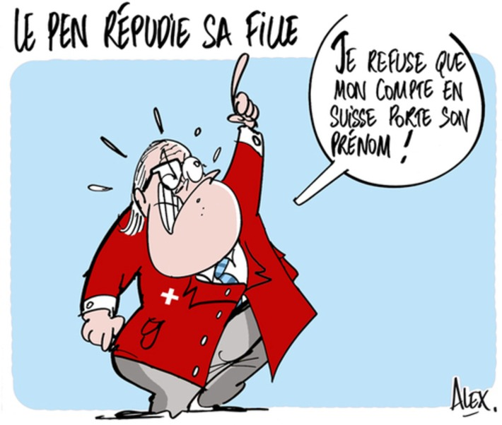 Jean-Marie Le Pen répudie sa fille | Baie d'humour | Scoop.it