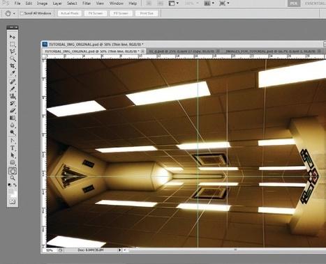 Create a futuristic composition in Photoshop   Tutorial   Computer ...   negrita   Scoop.it