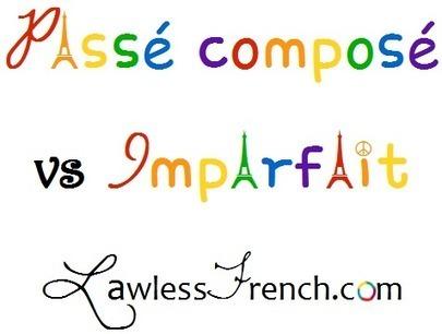 Passé composé vs Imparfait: Meaning Changes | French and France | Scoop.it