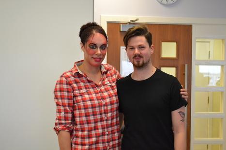 Ilamasqua's Key Artist Mika visits South Lanarkshire College | Make-Up Articles | Scoop.it