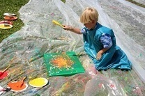 Art Projects That Are Perfect to Do Outside   Education   Scoop.it