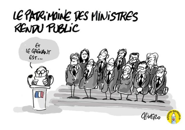 Le patrimoine des ministres rendu public   Baie d'humour   Scoop.it