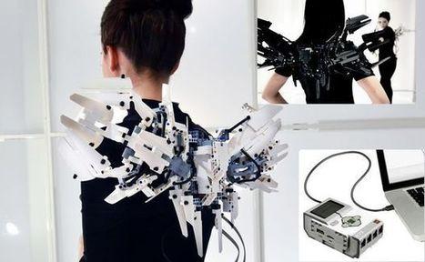 BADASS MECHATRONIC LEGO-MINDSTORMS WINGS   robotics   Scoop.it