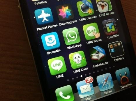 Comparativa: Whatsapp vs Line | Mobile Technology | Scoop.it