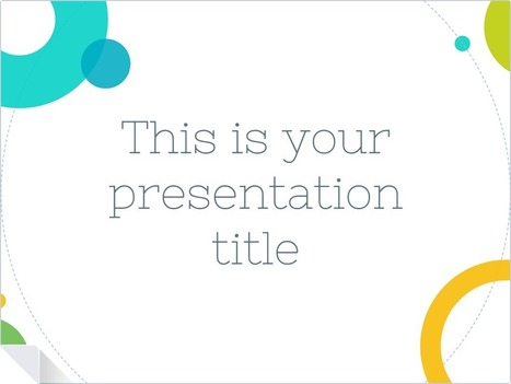 SlidesCarnival, free presentation templates for Google Slides & Powerpoint | Time to Learn | Scoop.it