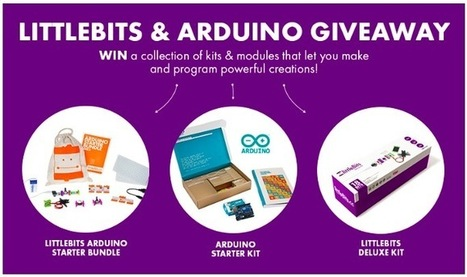 LittleBits and Arduino Giveaway – Win a collection of Kits! | Raspberry Pi | Scoop.it