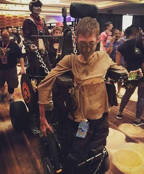 Disabled student turns his wheelchair into badass Mad Max cosplay - The Independent | Photoshooting | Scoop.it
