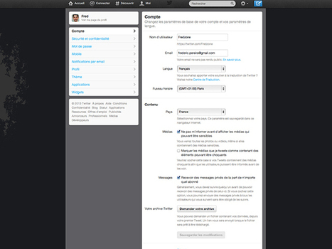 Twitter revient en arrière pour les messages privés | Fredzone | Geeks | Scoop.it