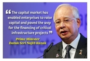 STOP, DON'T POLITICIZE! Use capital markets as 'force for good' - Najib - Malaysia Chronicle | Market Research | Scoop.it