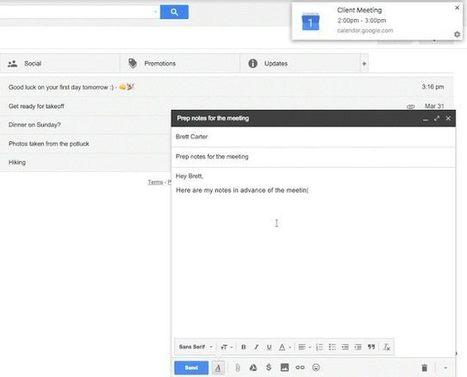Google Calendar contará con notificaciones web de serie | TIKIS | Scoop.it