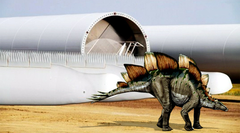 A Siemens desenvolveu as mais eficientes pás eólicas para turbinas, baseada em dinossauros! | Digital Sustainability | Scoop.it