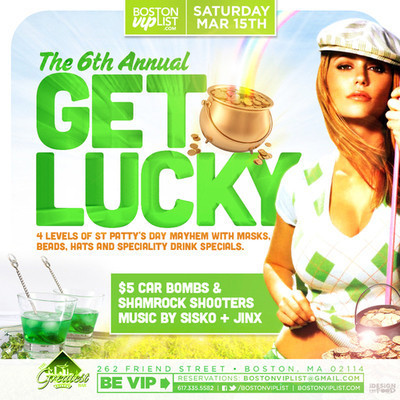 Get Lucky @ The Greatest Bar | Boston Nightlife | Scoop.it