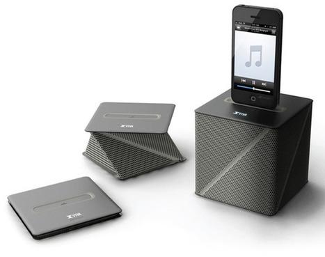 Viva Speaker: un origami come altoparlante per Android e iPhone | scatol8® | Scoop.it
