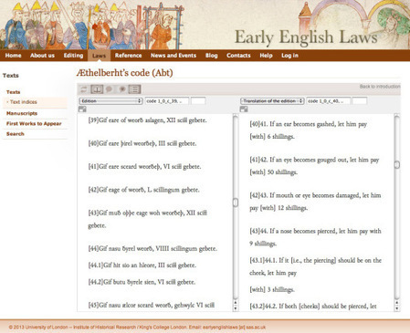 (EN) - Translations of Early English Laws | wordstodeeds.com | #XL8 #XL8R Trends, Localization, Innovation | Scoop.it