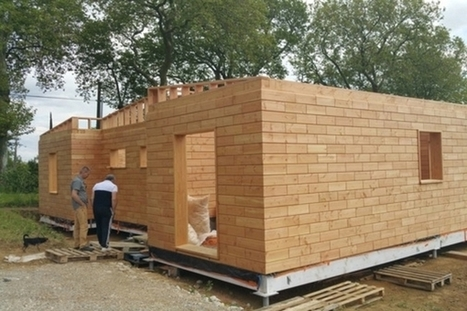 Brikawood : construire une maison passive avec des briques en bois | EFFICYCLE | Scoop.it