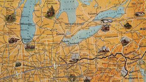 This Air Travel Map From 1929 Is Absolutely Stunning | Strange days indeed... | Scoop.it